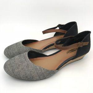 Seychelles Begonia Low Heel Wedge Heel Ankle Strap